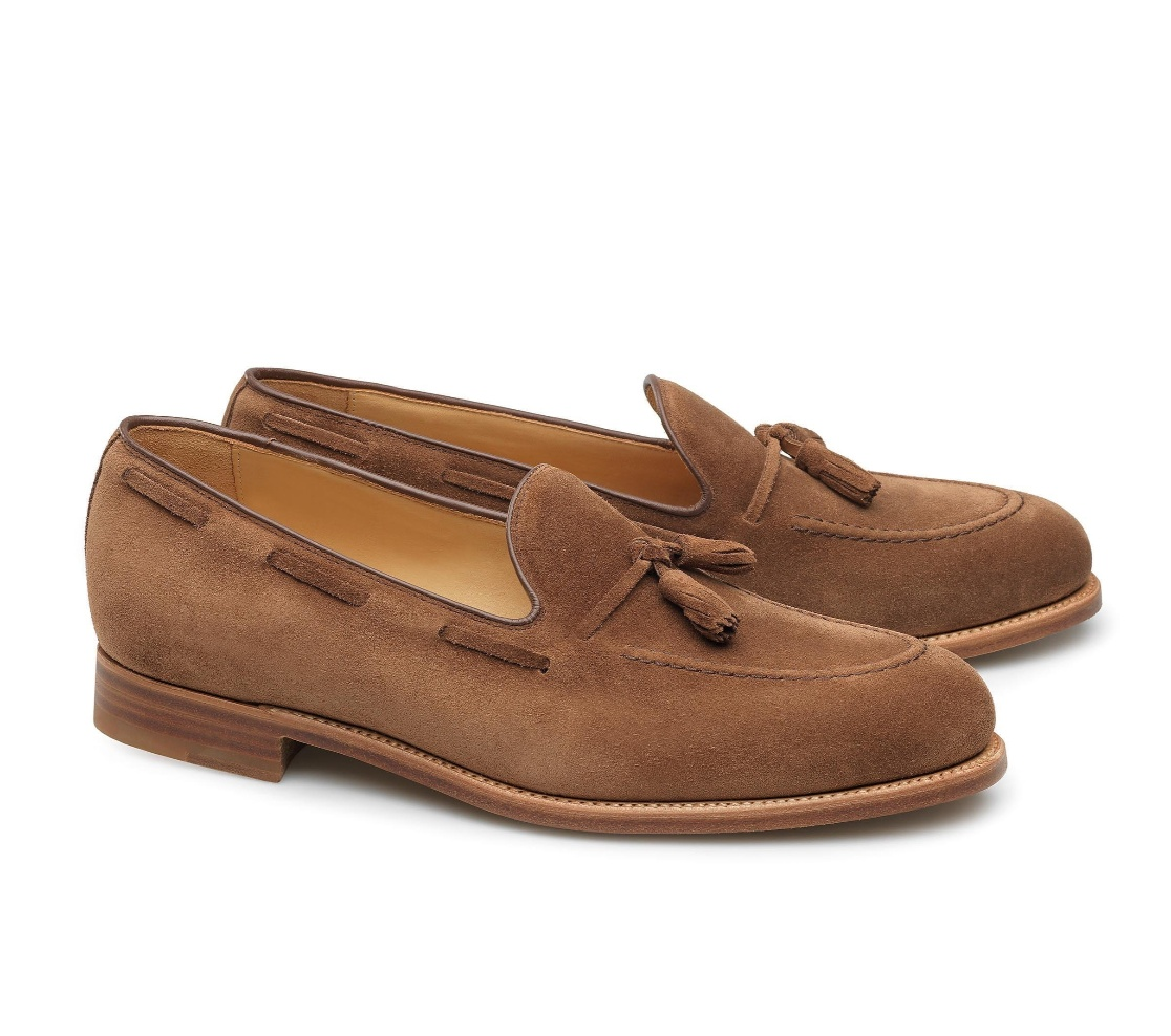 Tassel Loafers - Isaac Velours 105
